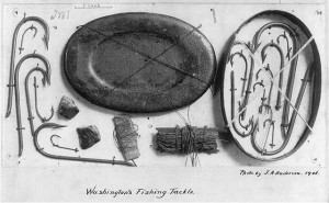 George Washington's fishing tackle